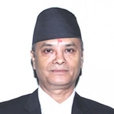 Right Honorable Mr. CHOLENDRA SHUMSHER JBR Chief Justice