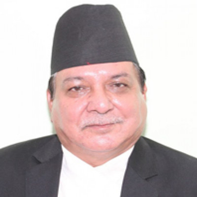 Honorable Mr. Damber Bahadur Shahi Justice