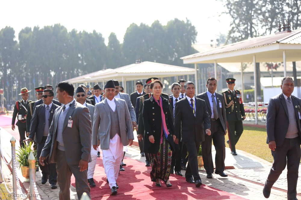 International delegates arrive in Kathmandu for Asia Pacific Summit