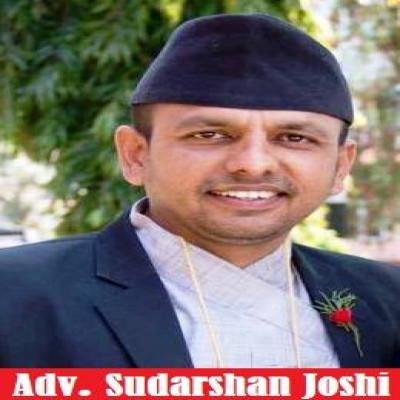 Advocate Sudarshan Joshi